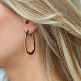 Earrings gold treasure_