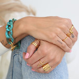 Ring chain gold_