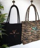 Zebra bag medium