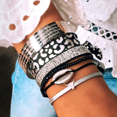 SET - Silver bracelet set