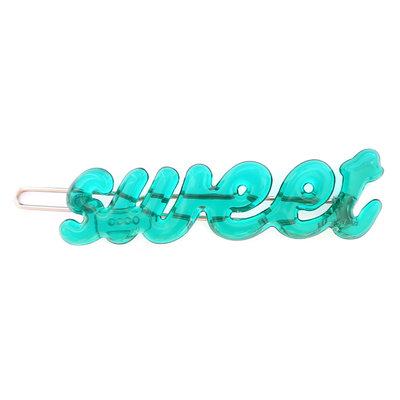Hair clip sweet turquoise