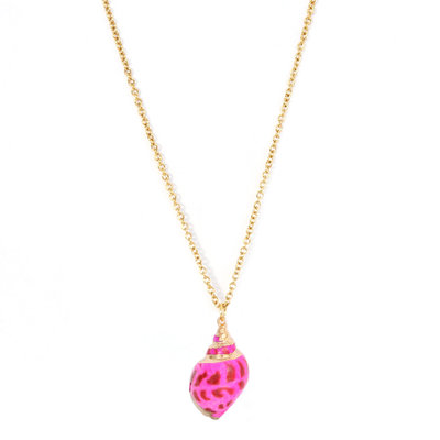 Necklace Palaeo shell pink