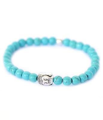 Buddha bracelet turquoise stone