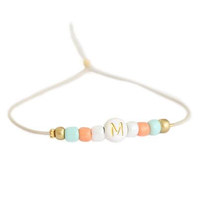 Initial bracelet summer
