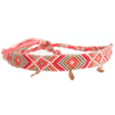 Anklet cotton rosé