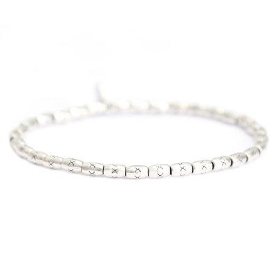 Silver island bracelet