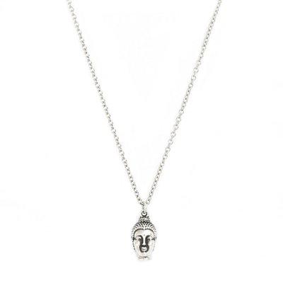 Necklace Buddha silver