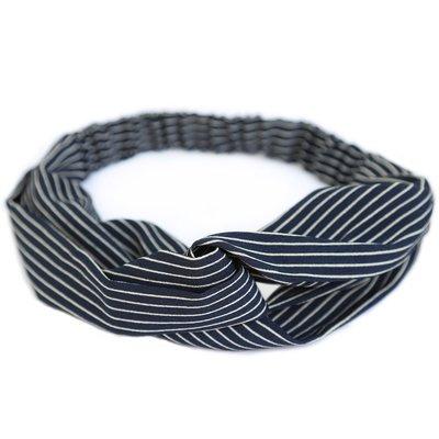 Hair band Stripe black