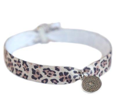 Anklet leopard Coin