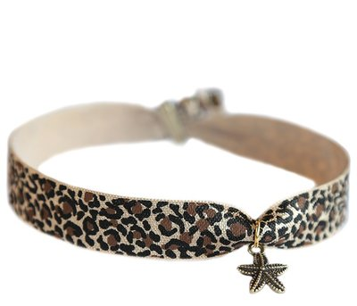 Anklet Leopard Starfish