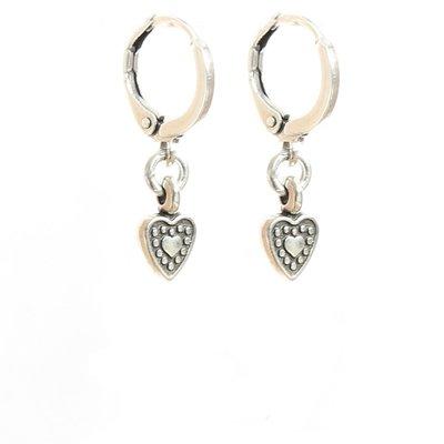 Earrings - Heart silver