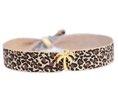Anklet Palm leopard