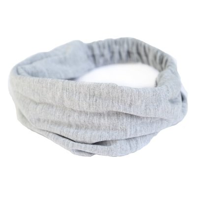 Hair band Jersey grey