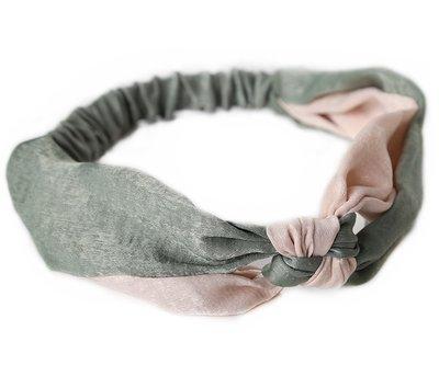 Hair band pastel silk