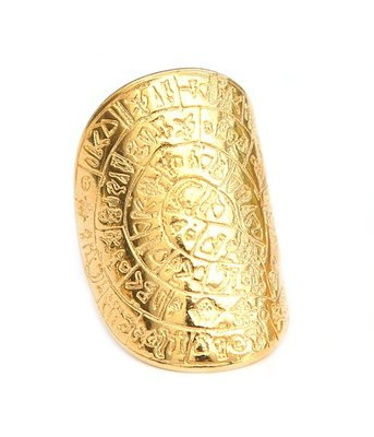 Ring - Hieroglyph gold