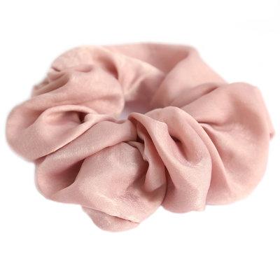 Scrunchie silk rose