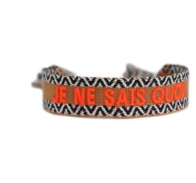 Woven bracelet Je ne sais quoi