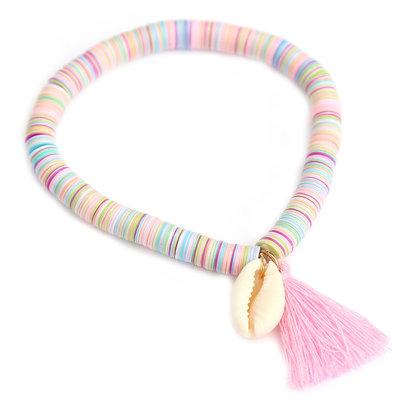 Bracelet shell flakes pastel