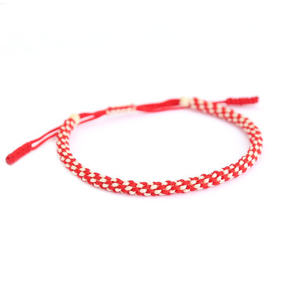 Bracelet buddhist red