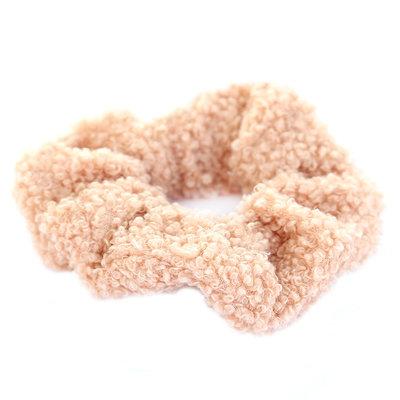 Scrunchie teddy rose