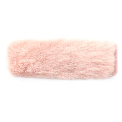 Hair clip fluffy rose
