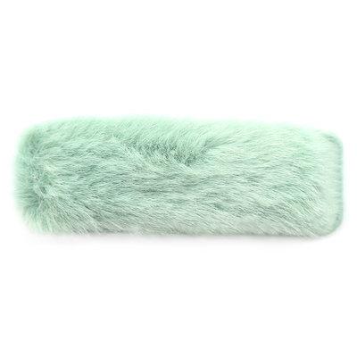 Hair clip fluffy mint