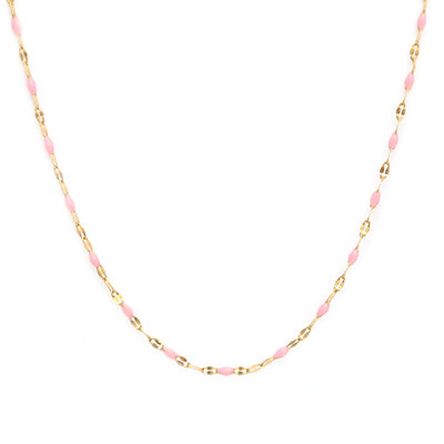 Necklace little chain pink