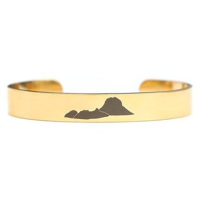 Es Vedra bracelet gold