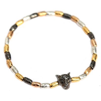 Braclet tri color leopard
