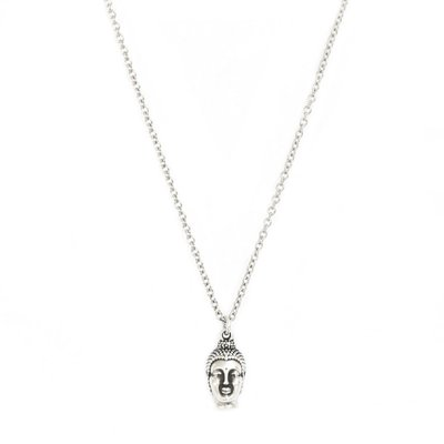 Necklace Buddha silver