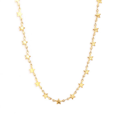 Necklace Sky full of stars gold