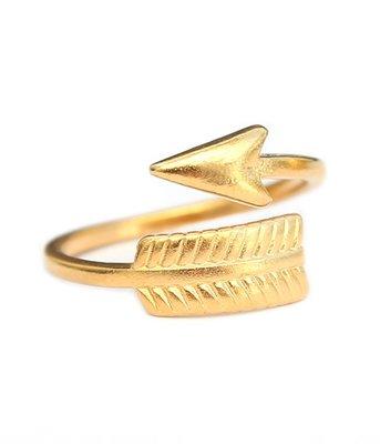 Ring Arrow gold