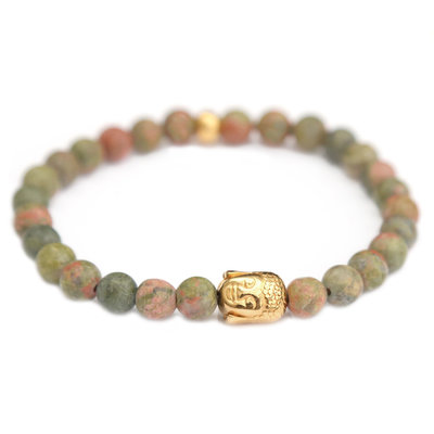 Bracelet buddha jade