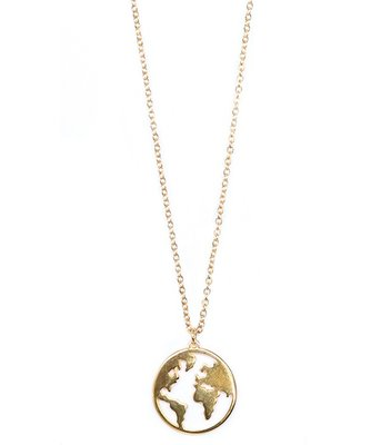 Necklace Earth gold