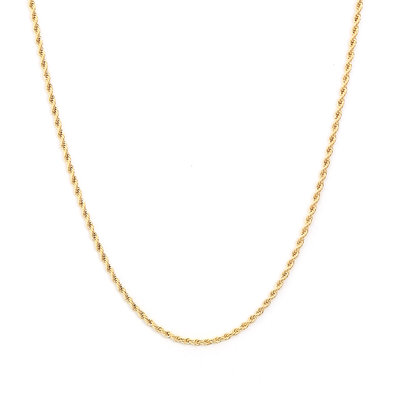Necklace twisted gold