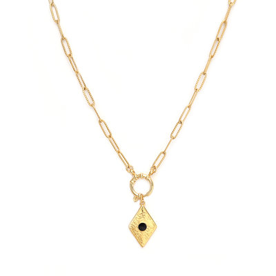 Necklace baroque gold