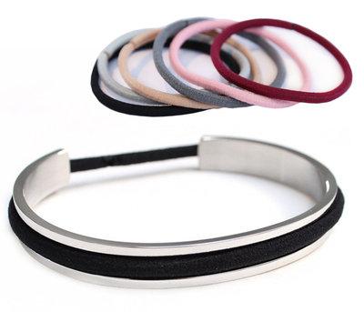 Hairtie bracelet - silver
