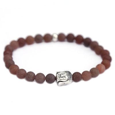 Bracelet buddha brown