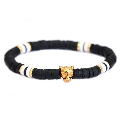 Bracelet leo chic black