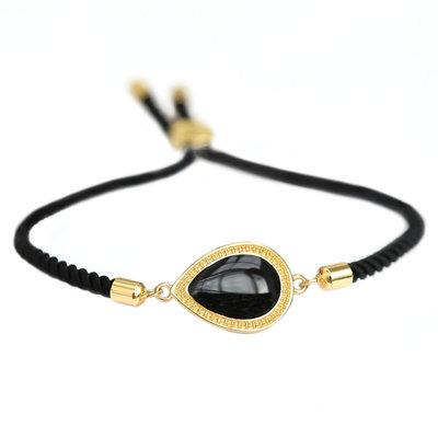 Bracelet Versailles black gold