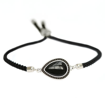 Bracelet Versailles black silver