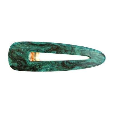Statement hair clip - Emerald