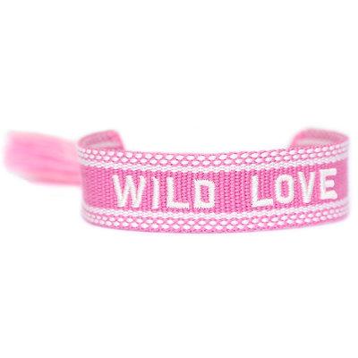 Woven bracelet Wild love