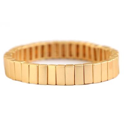 Bracelet matte gold