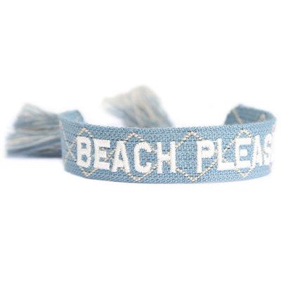 Woven bracelet Beach please