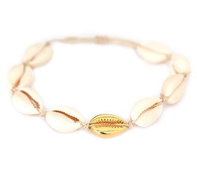 Anklet Gold shell