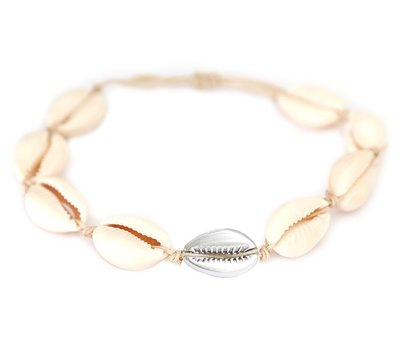Anklet Silver shell