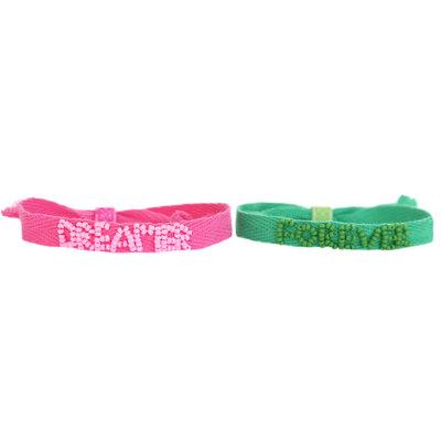 Forever dreamer set of 2 bracelets