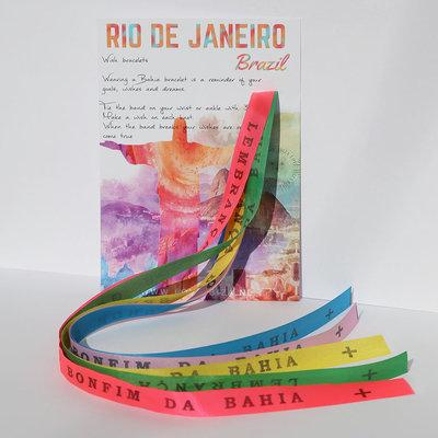 Bonfim de Bahia wish bracelets set No. 1