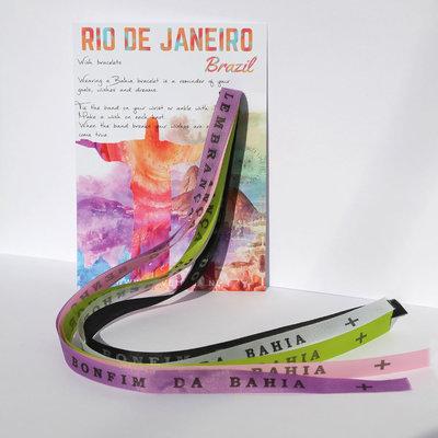 Bonfim de Bahia wish bracelets set No. 2